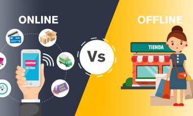 Compras en línea vs compras en tienda