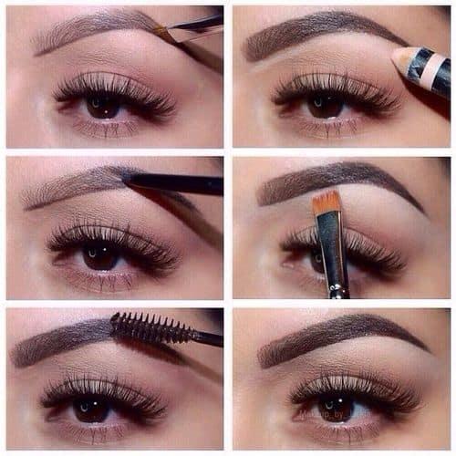 Manera de maquillarse las cejas