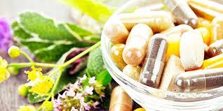 Cápsulas de vitaminas y minerales