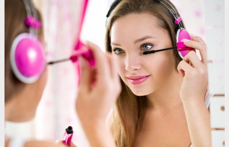 el maquillaje en mujeres adolescentes