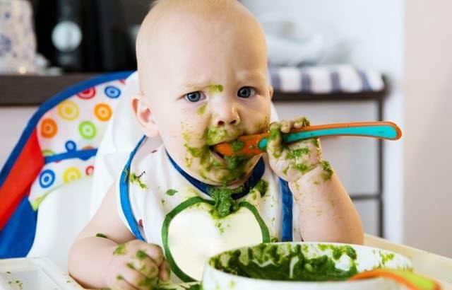 alimentación para mi bebé