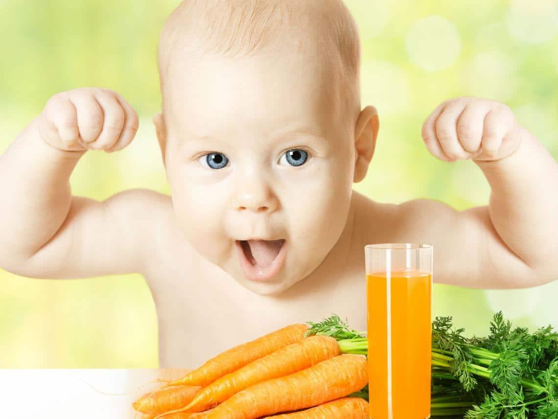 vitaminas para bebés
