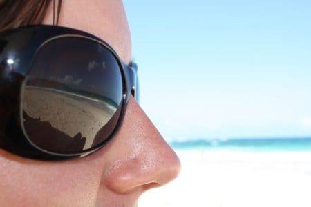 son malas las gafas de sol
